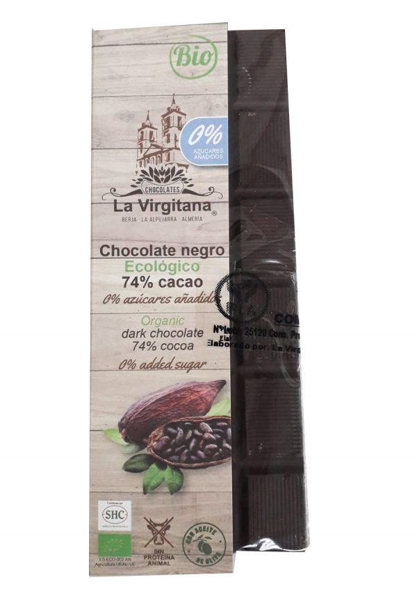 chocolate 74% cacao